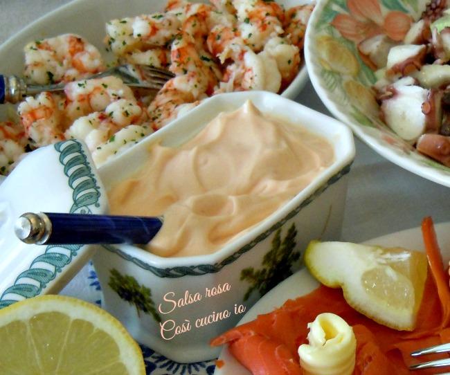 Salsa rosa-Così cucino io