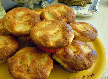 Tortine di mele, ricetta semplice senza burro