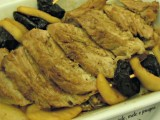 Filetto di maiale mele e prugne-Così cucino io