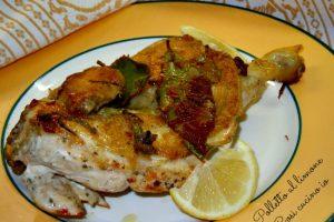 Polletto al limone, ricetta senza grassi