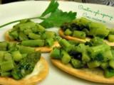 Crostini agli asparagi-Così cucino io