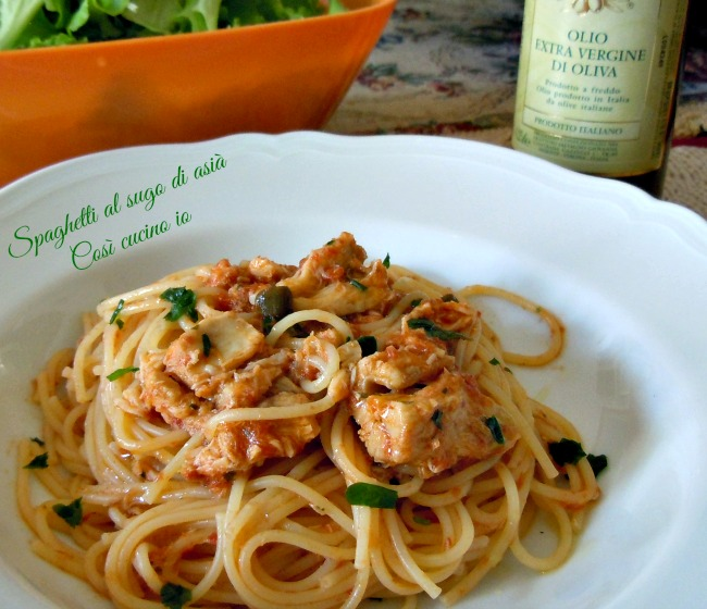 Spaghetti al sugo di asià-Così cucino io
