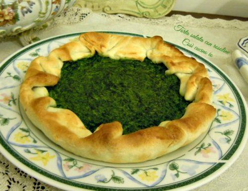 Torta salata con rosoline, ricetta erbe spontanee
