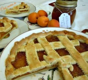 Crostata di marmellata di albicocche-Così cucino io