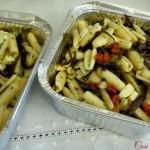 Gnocchetti sardi melanzane scamorza e pomodori secchi (ricetta estiva)