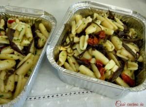 Gnocchetti sardi melanzane scamorza e pomodori secchi-Così cucino io