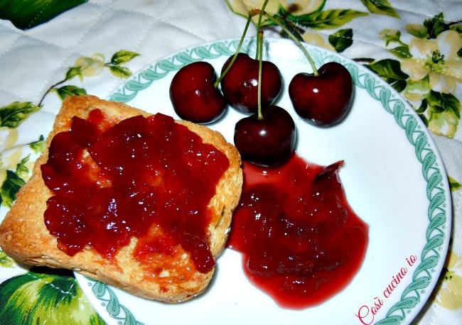 Marmellata di ciliegie-Così cucino io