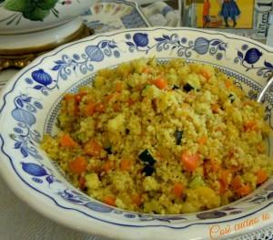 Cuscus vegetariano-Così cucino io