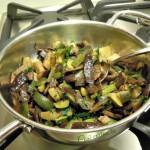 Melanzane e zucchine al funghetto