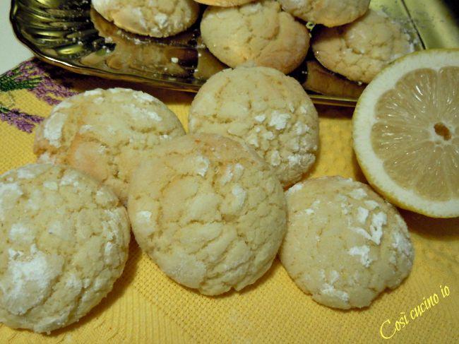 Biscotti al limone-Così cucino io