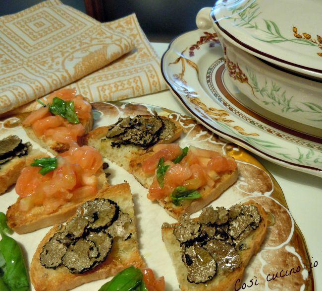 Bruschettecome a Gubbio-Così cucino io