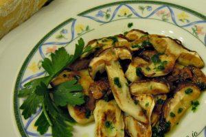 Funghi porcini grigliati
