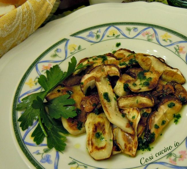 Funghi porcini grigliati-Così cucino io