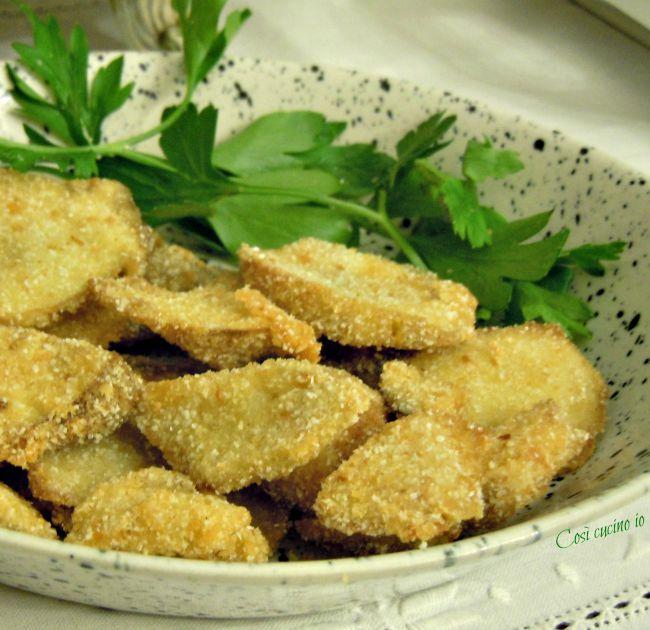 Funghi porcini dorati e fritti-Così cucino io