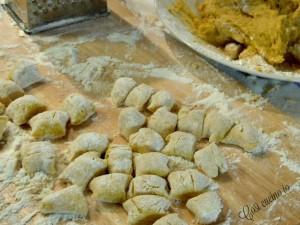 Gnocchi patate e zucca
