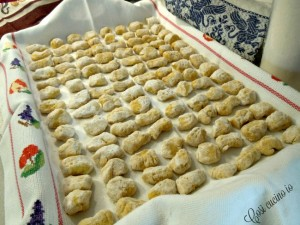 Gnocchi di zucca e patate al ragù di coniglio-Così cucino io