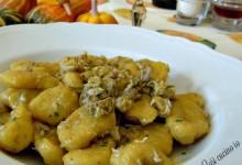 Gnocchi di zucca e patate al ragù di coniglio