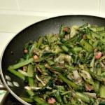Padellata di verdure allo speck