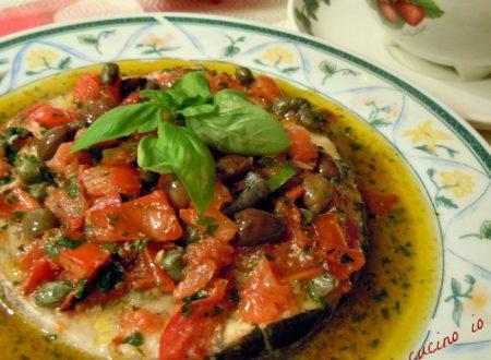 Pesce spada in guazzetto aromatico