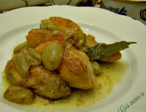 Pollo all'uva