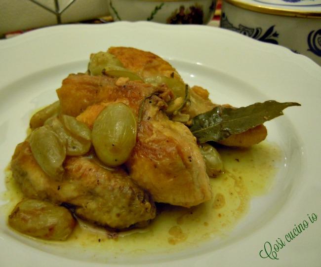 Pollo all'uva-Così cucino io