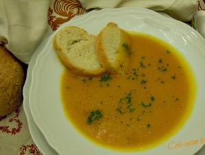 Zuppa di zucca-Così cucino io