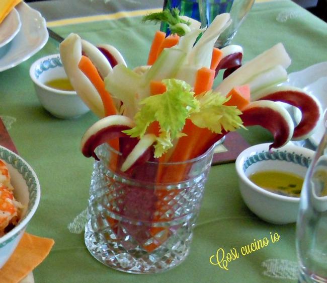 Verdure in pinzimonio-Così cucino io