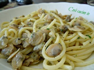Spaghetti alle vongole-Così cucino io