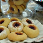 Frollini alla marmellata di ciliegie