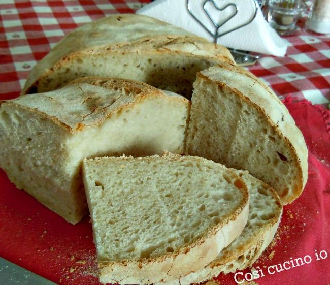 Pagnotta alle tre farine con lievito madre-Così cucino io