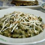 Risotto sei verdure e ricotta affumicata