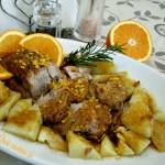 Filetto di maiale all'arancia