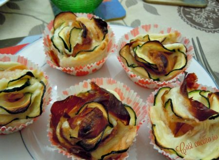 Rose di sfoglia, antipasto raffinato