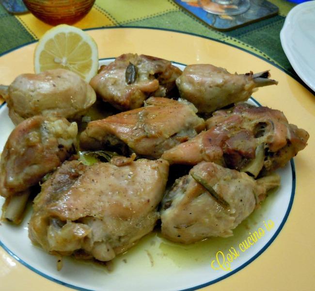 Bocconcini di pollo al limone-Così cucino io