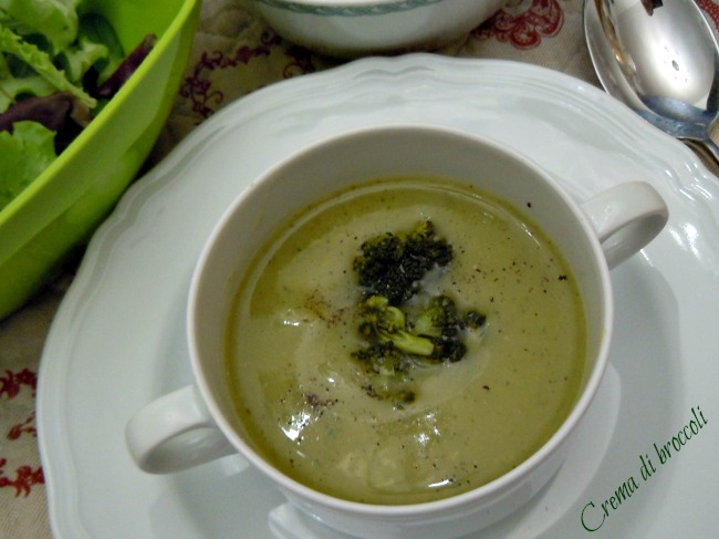 Crema di broccoli - Così cucino io
