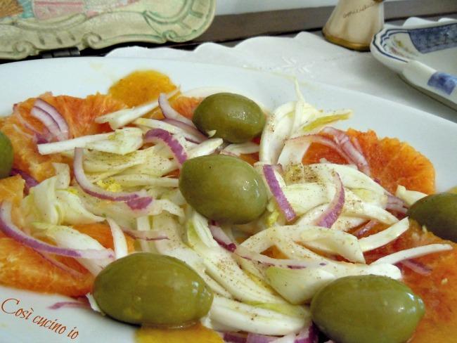 Insalata di arancia, finocchio e cipolla di tropea- Così cucino io