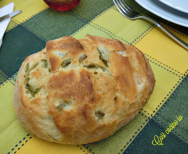 Pagnottina alle olive - Così cucino io