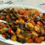 Ratatouille in agrodolce