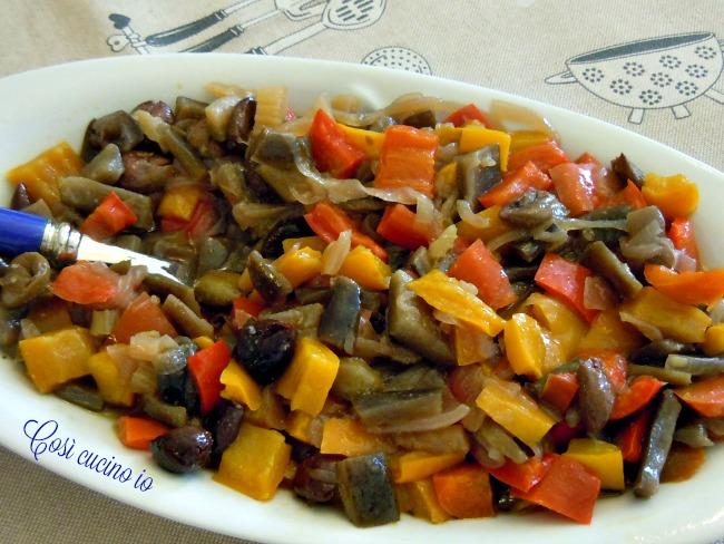 Ratatouille in agrodolce - Così cucino io