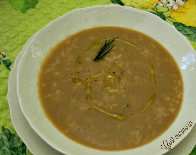 Risi e fasioi (minestra di riso e fagioli) - Così cucino io