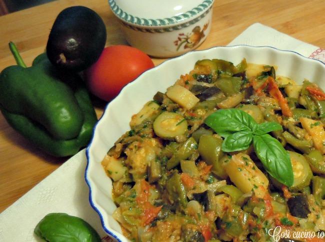 Ratatouille mediterranea - Così cucino io