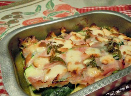 Pasticcetto di zucchine