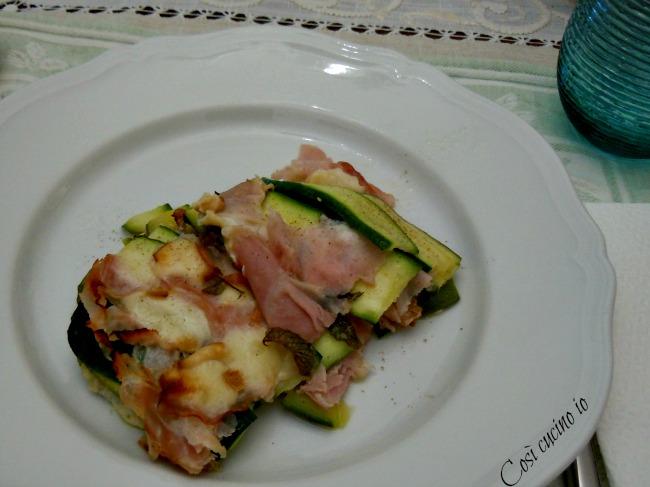 Pasticcetto di zucchine - Così cucino io