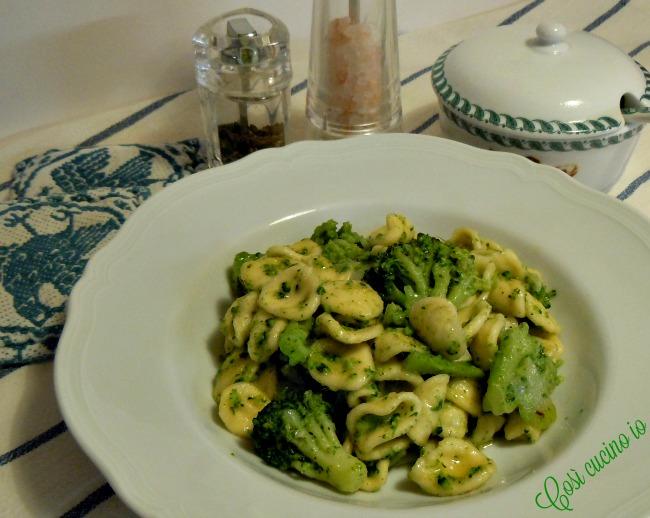 Orecchiette e broccoli - Così cucino io