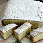 Torta facile senza bilancia alla vaniglia