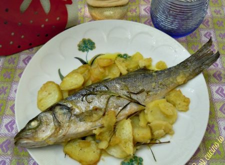 Branzino e patate al forno