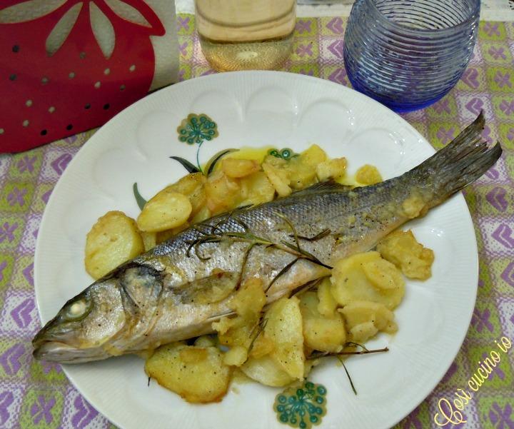 Branzino e patate al forno - Così cucino io