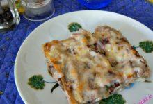 Lasagnetta affumicata al radicchio tardivo