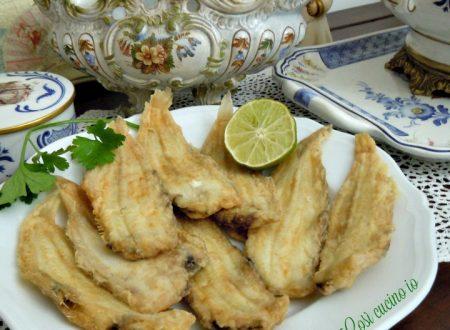 Passerini fritti, piatto tradizionale veneziano