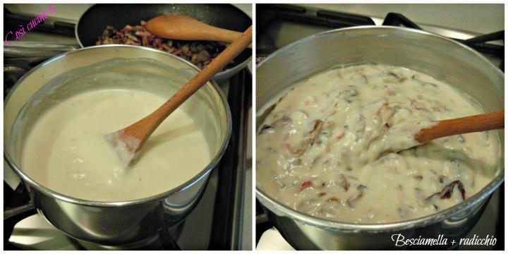 Lasagnetta affumicata al radicchio tardivo -Così cucino io